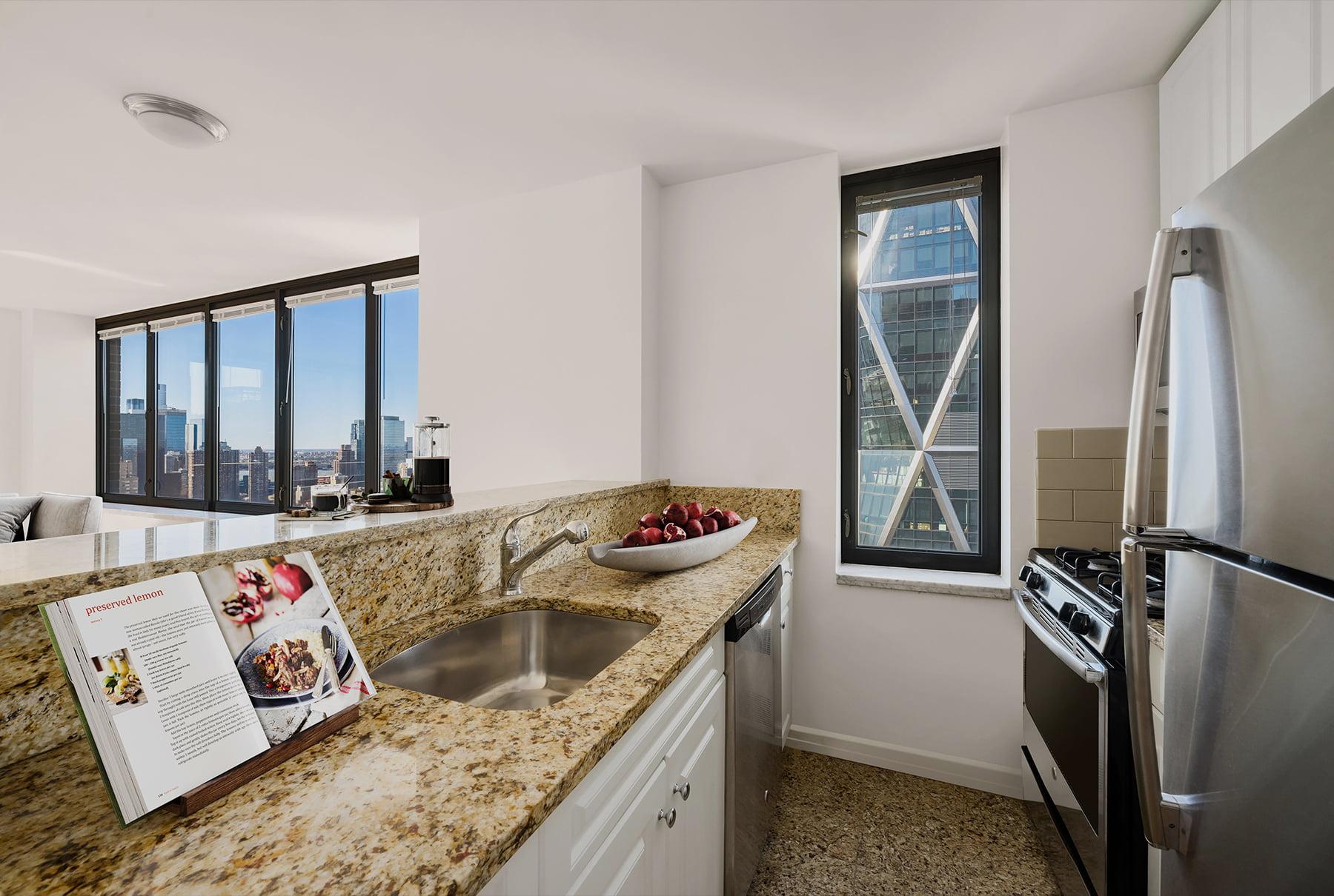 Open Granite Kitchens
