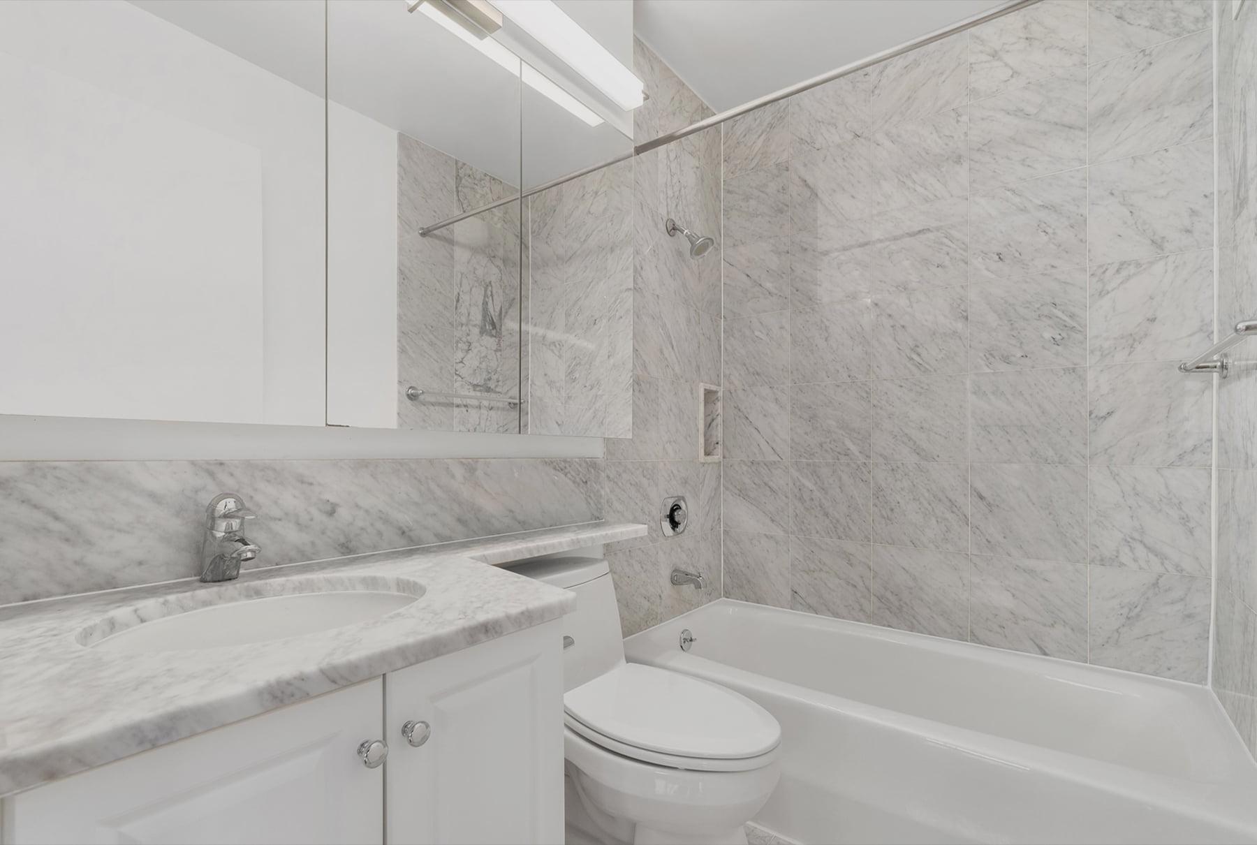 Carrara Marble Baths