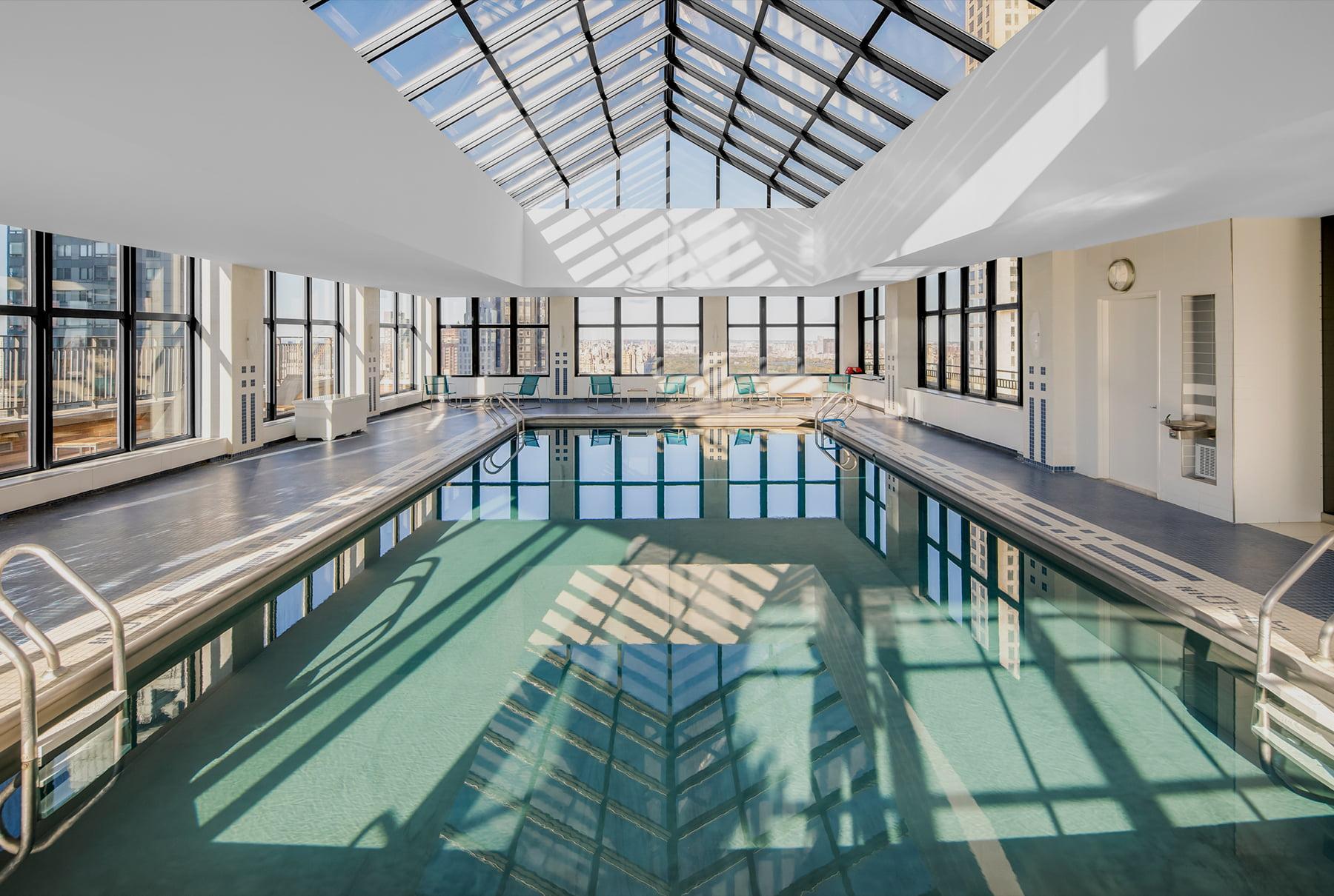 Rooftop Atrium Pool